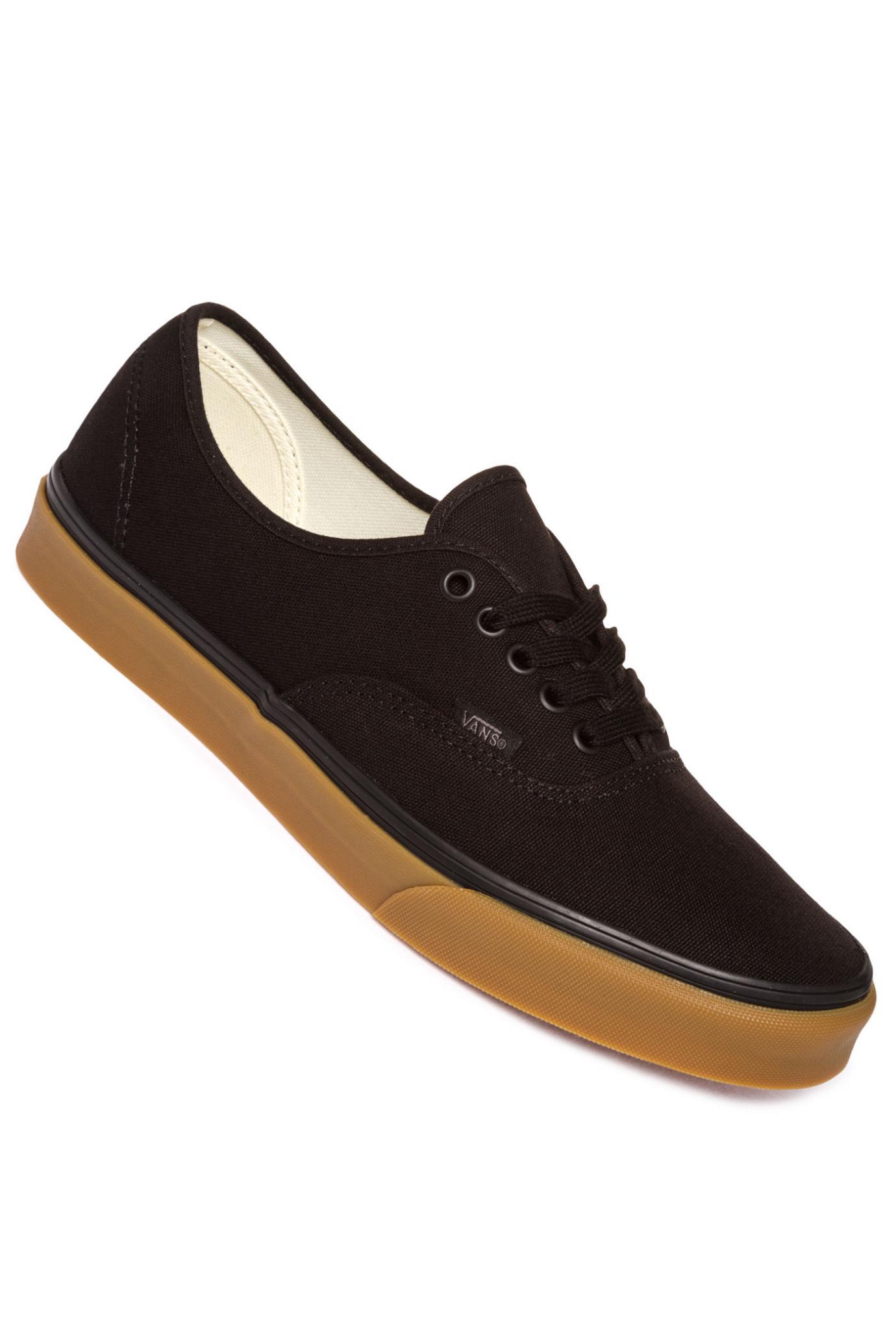 Sneaker | Authentic Canvas Scarpa 12 Oz Black Gum | Vans Uomo ⋆ Sport Vicenza